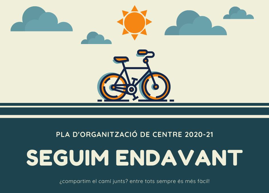 PLA D'ORGANITZACIÓ DE CENTRE – Col·legi Alpes 2020-21